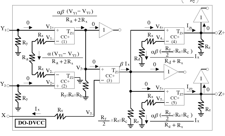 Square Triangular Wave Generator Using Single Do Dvcc And Three Signal Circuit Figure 4