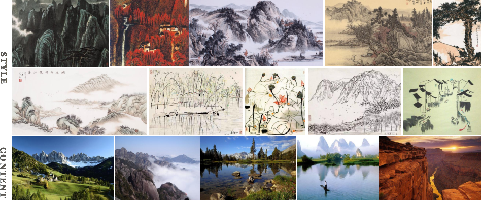 Figure 4 for Neural Abstract Style Transfer for Chinese Traditional Painting
