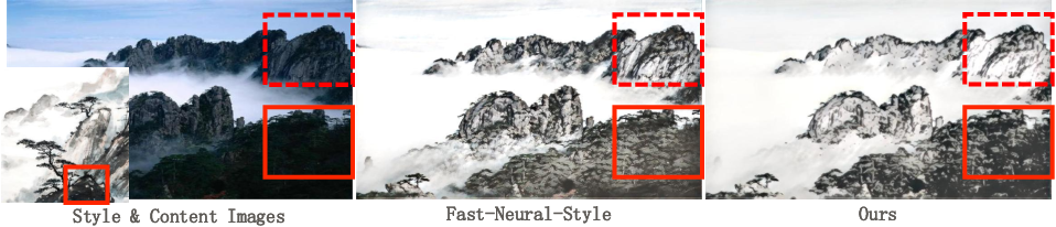 Figure 1 for Neural Abstract Style Transfer for Chinese Traditional Painting