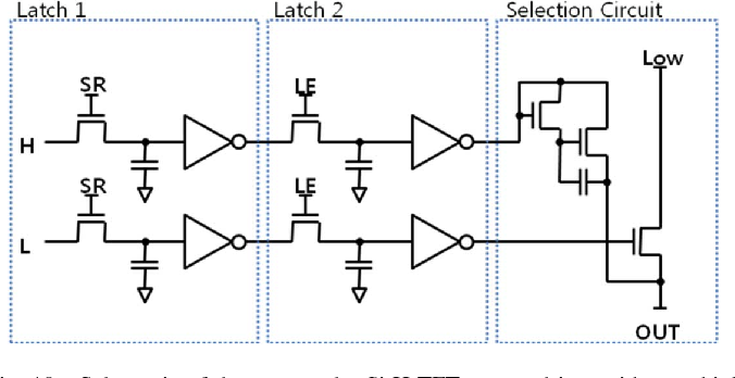 Fig. 10. Schematic of the proposed a-Si:H TFT source driver without a high voltage source.