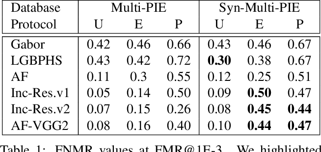 Figure 2 for On the use of automatically generated synthetic image datasets for benchmarking face recognition