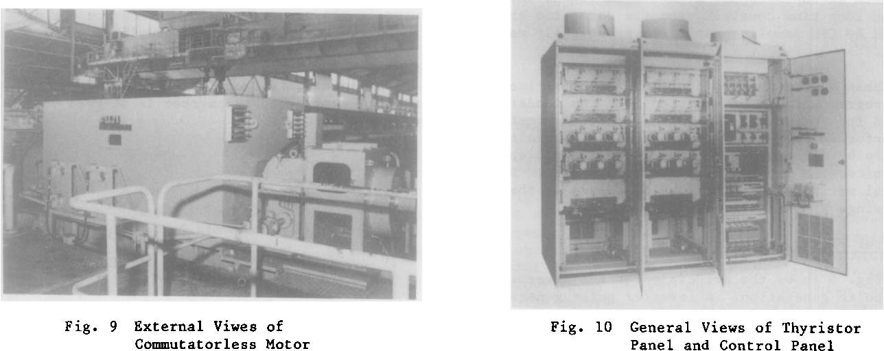 Fig . 10 General Views of Thyristor Panel and Control Panel