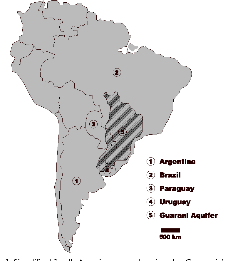 Guarani aquifer system the strategical water source in south figure 1 publicscrutiny Images