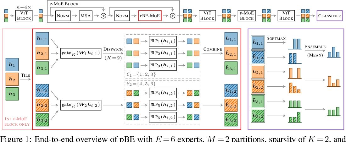 Figure 1 for Sparse MoEs meet Efficient Ensembles