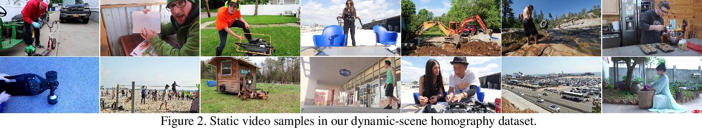 Figure 2 for Deep Homography Estimation for Dynamic Scenes
