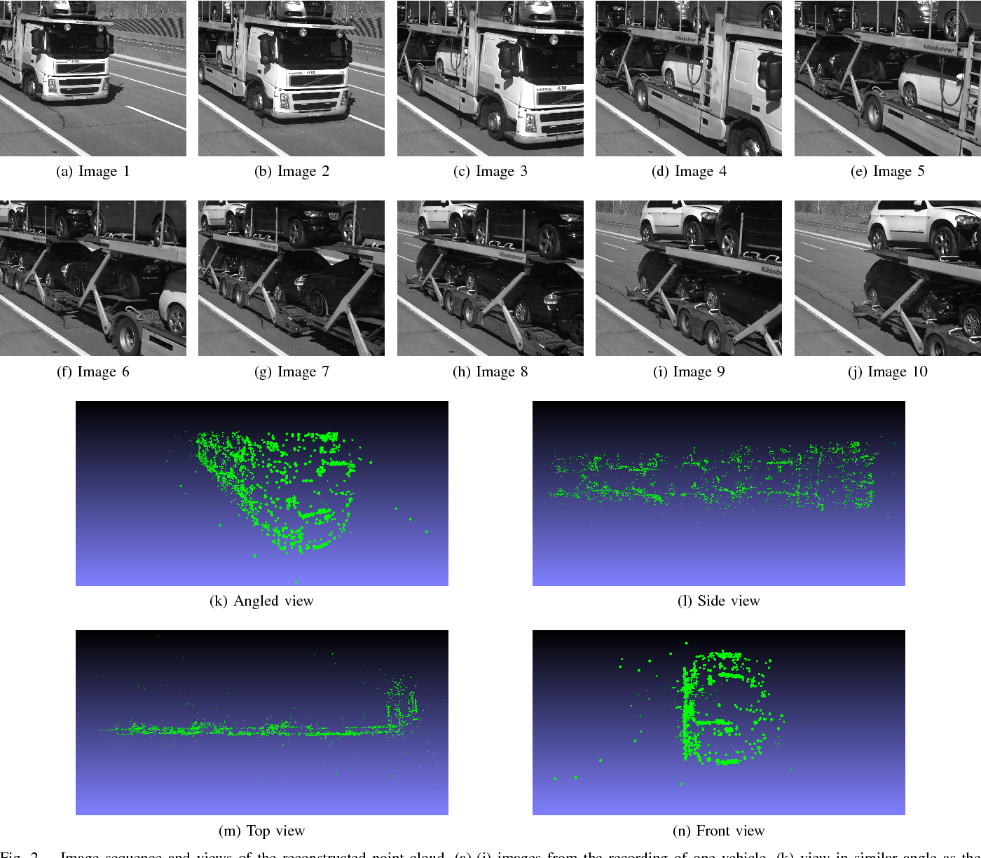 Figure 2 for Deep 2.5D Vehicle Classification with Sparse SfM Depth Prior for Automated Toll Systems