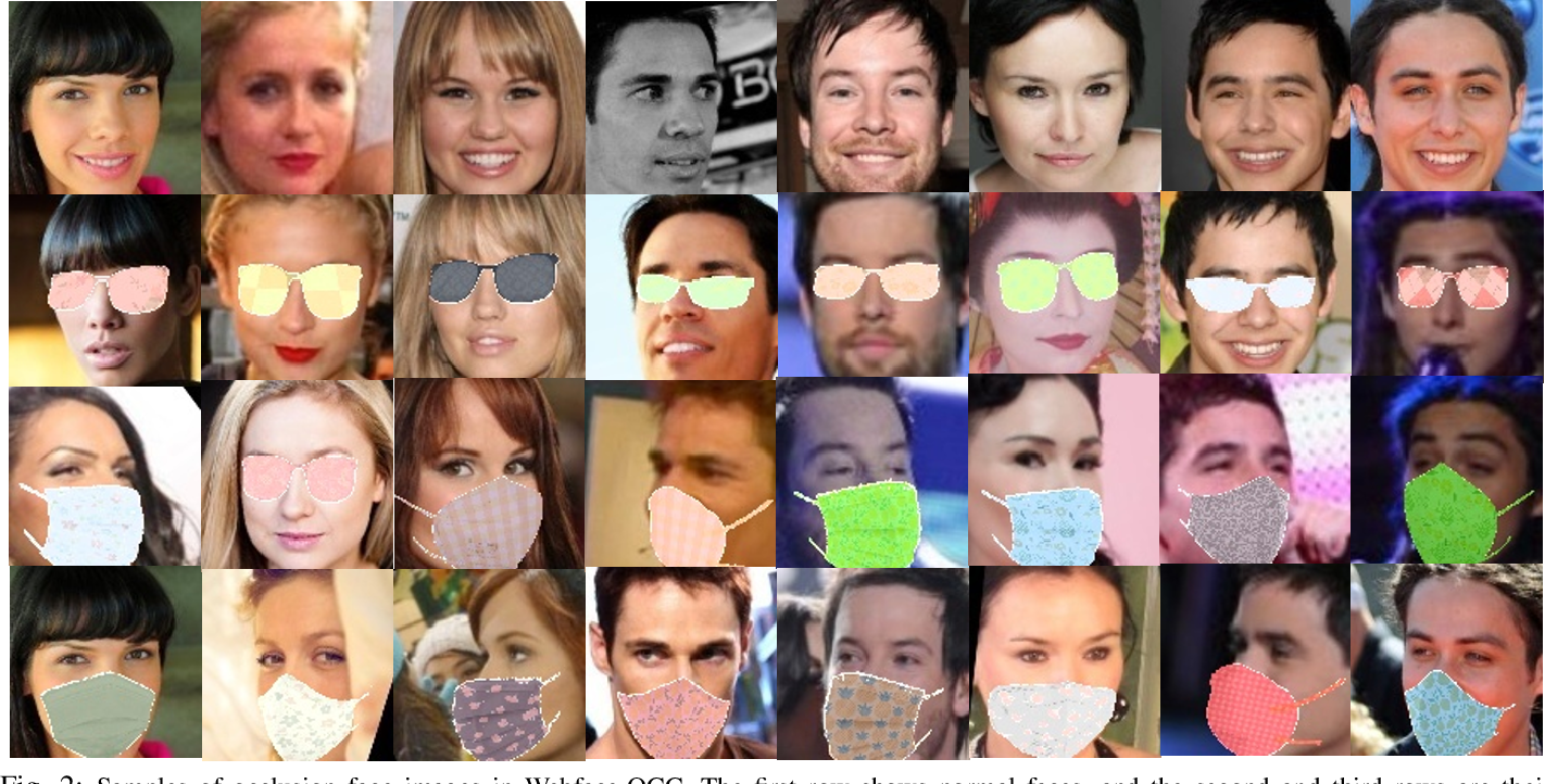 Figure 2 for When Face Recognition Meets Occlusion: A New Benchmark