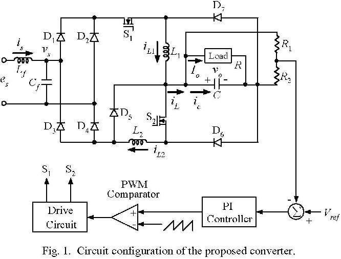 Analysis And Design Of A Single Phase Buck Boost Power Factor
