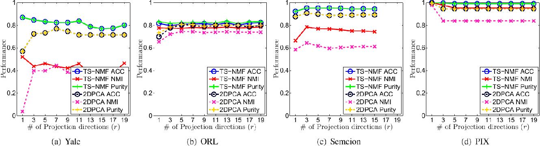 Figure 1 for Two-Dimensional Semi-Nonnegative Matrix Factorization for Clustering