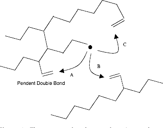 Effect Of Monomer Type And Dangling End Size On Polymer Network