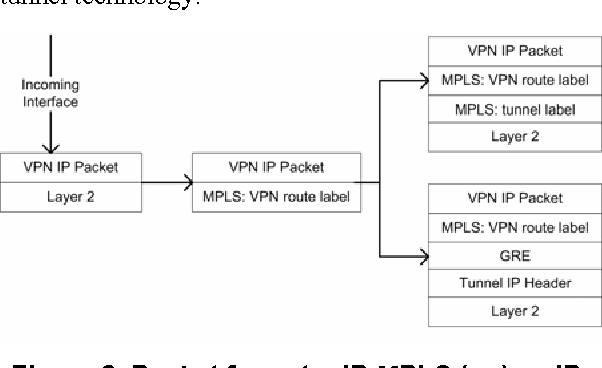 Figure 2 from New Tunneling Capabilities for BGP/MPLS IP VPN