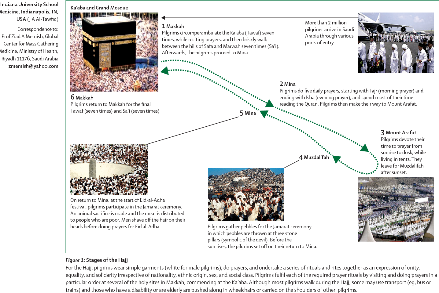 Figure 1 from Hajj: infectious disease surveillance and control
