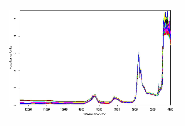 Figure 1 shows there are strong absorption peaks in