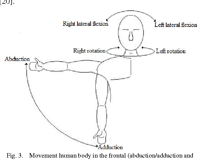 Analyzing The Human Body Joints Range Of Movement The Use Of