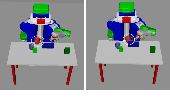 Figure 1 for Learning to guide task and motion planning using score-space representation