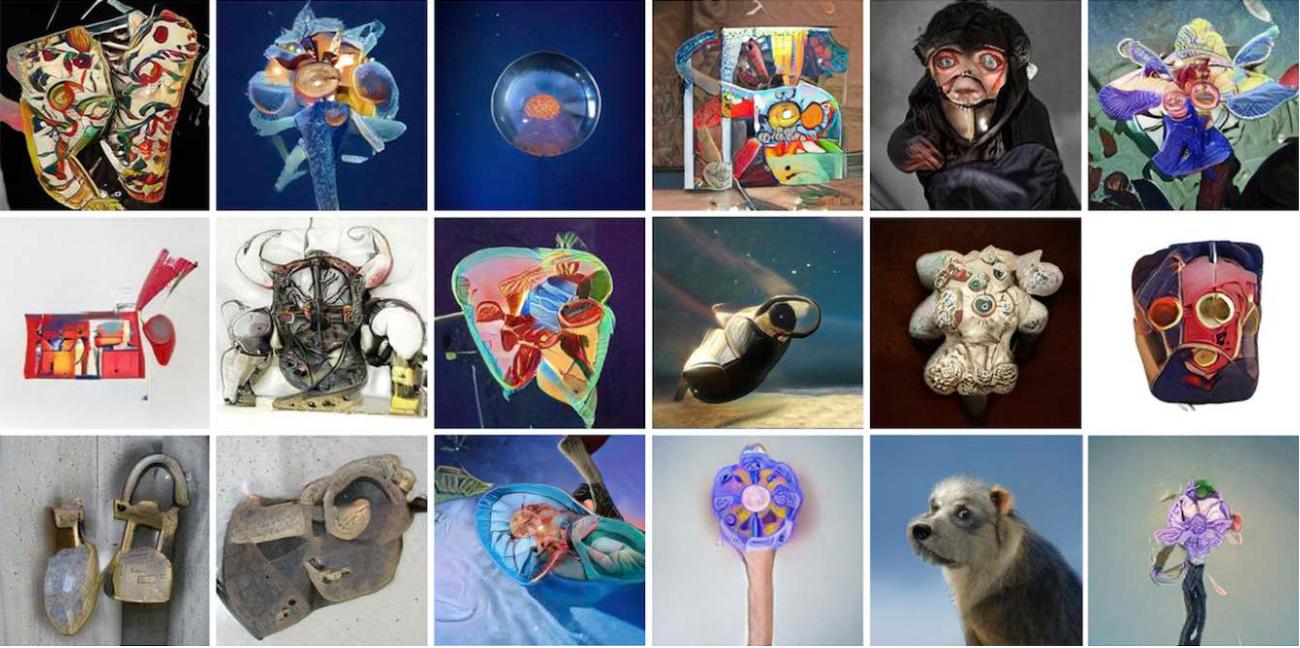 Figure 3 for Aesthetics of Neural Network Art
