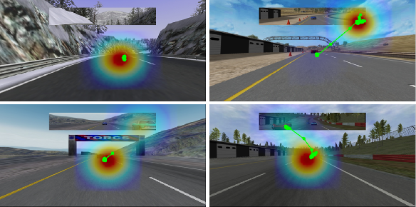 Figure 1 for Utilizing Eye Gaze to Enhance the Generalization of Imitation Networks to Unseen Environments