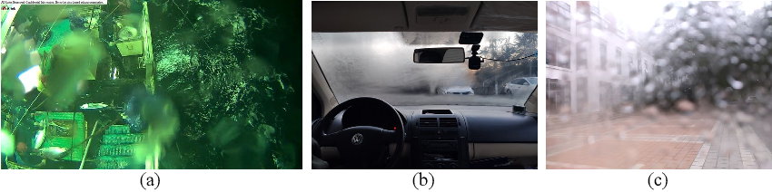 Figure 1 for Adherent Mist and Raindrop Removal from a Single Image Using Attentive Convolutional Network