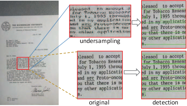 Figure 2 for Towards Document Image Quality Assessment: A Text Line Based Framework and A Synthetic Text Line Image Dataset