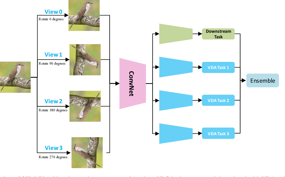 Figure 3 for A Multi-view Perspective of Self-supervised Learning