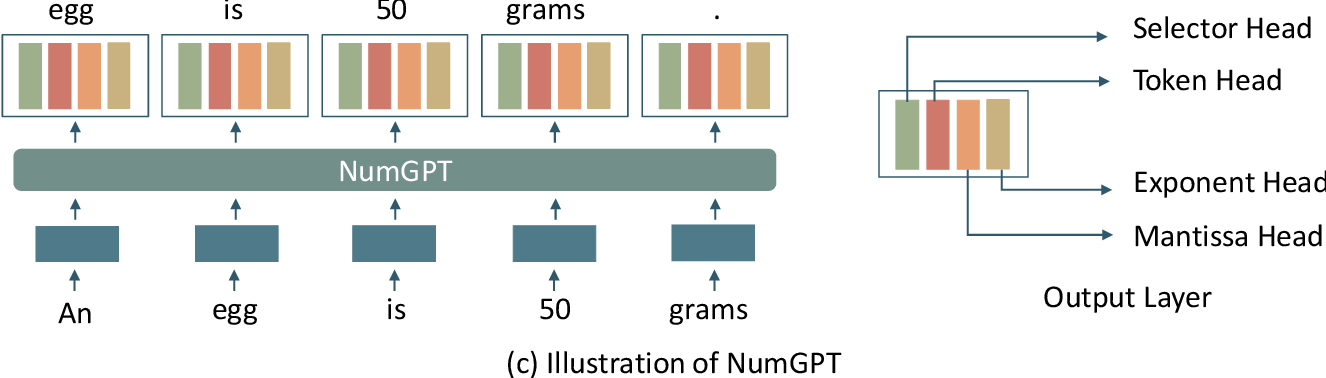Figure 3 for NumGPT: Improving Numeracy Ability of Generative Pre-trained Models