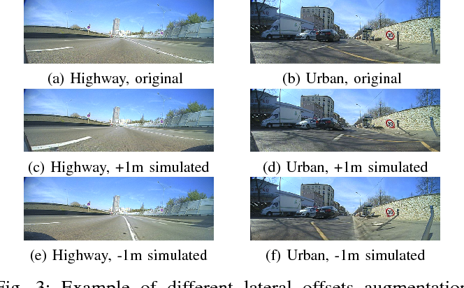 Figure 3 for End to End Vehicle Lateral Control Using a Single Fisheye Camera