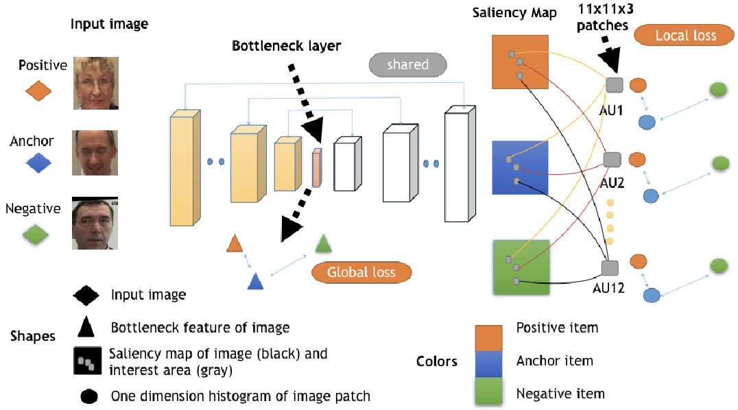 Figure 1 for Saliency Supervision: An Intuitive and Effective Approach for Pain Intensity Regression