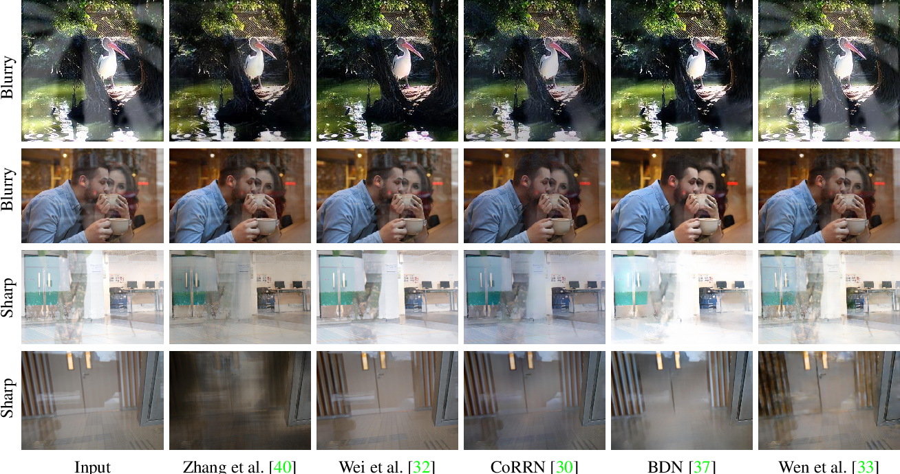 Figure 1 for A Categorized Reflection Removal Dataset with Diverse Real-world Scenes
