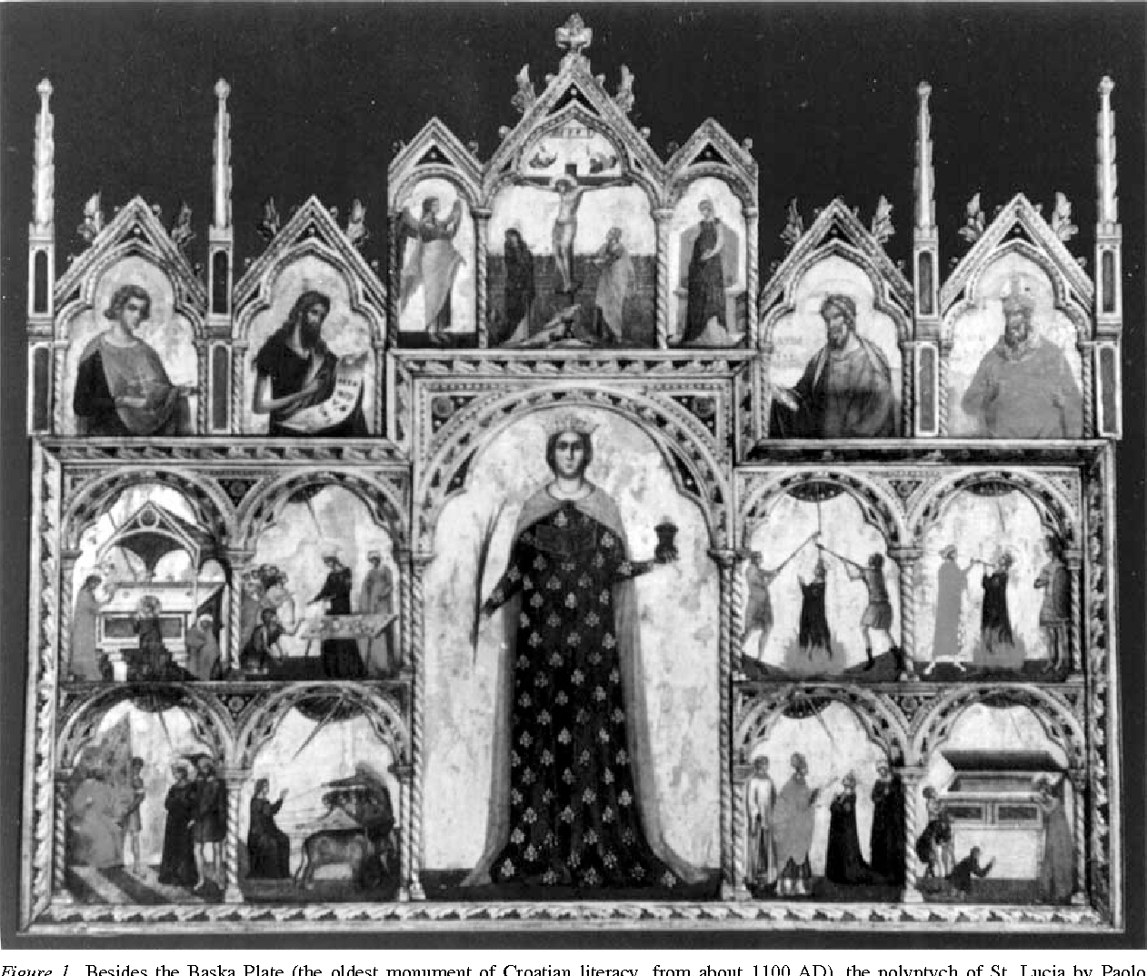 Figure 1 From The Cult Of St Lucia Patroness Of The Eyes Some
