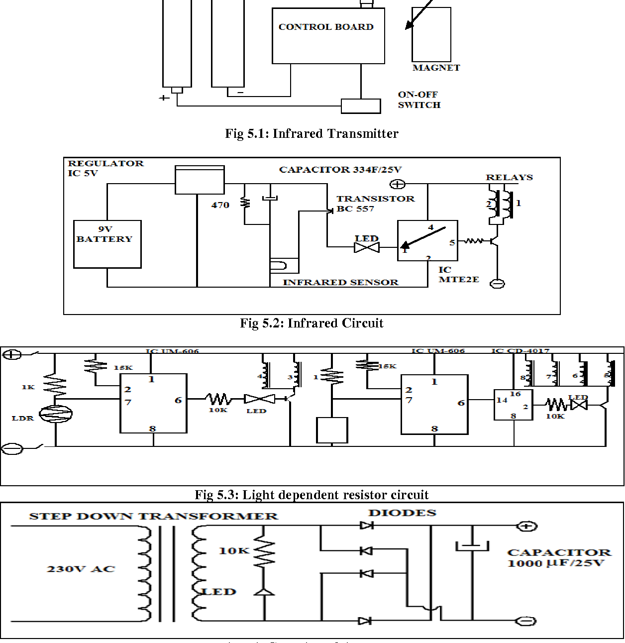 Fabrication Of Automated Electronic Trolley Light Dependent Resistor Circuit Fig 53