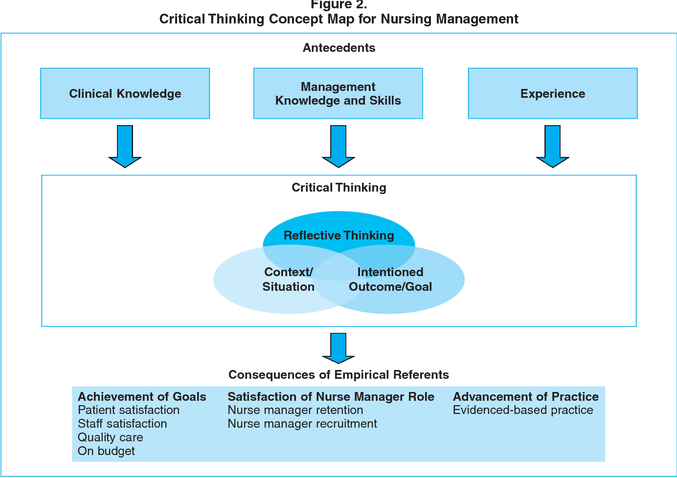 critical thinking in nurse managers zori