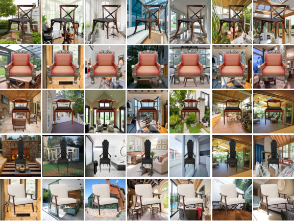 Figure 3 for Chair Segments: A Compact Benchmark for the Study of Object Segmentation