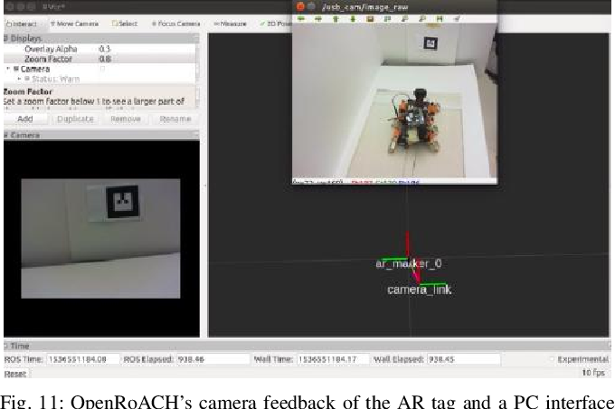 Figure 3 for OpenRoACH: A Durable Open-Source Hexapedal Platform with Onboard Robot Operating System (ROS)