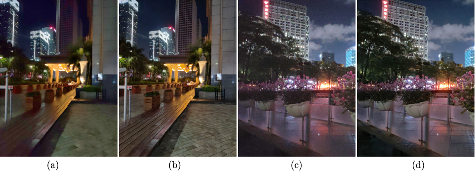 Figure 1 for Practical Deep Raw Image Denoising on Mobile Devices