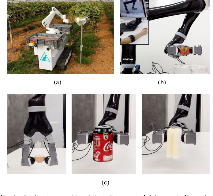 Figure 1 for Force-guided High-precision Grasping Control of Fragile and Deformable Objects using sEMG-based Force Prediction