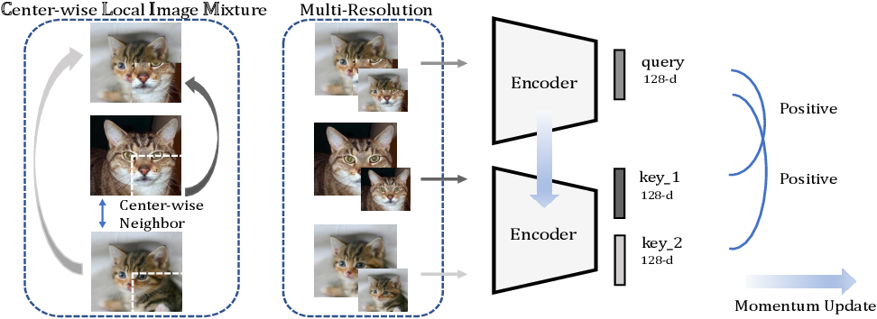 Figure 1 for Center-wise Local Image Mixture For Contrastive Representation Learning