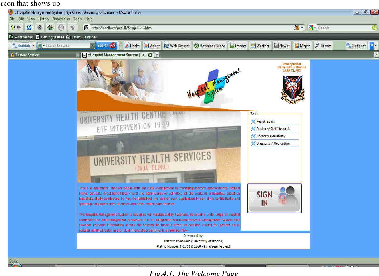 PDF] Development of Hospital Information Management Systems