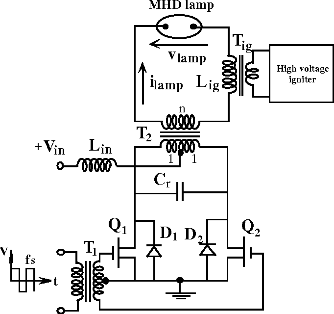 Figure 2 From A Mhz Electronic Ballast For Automotive Type Hid Lamps