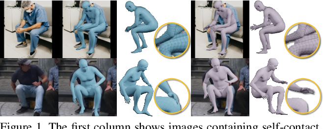 Figure 1 for On Self-Contact and Human Pose