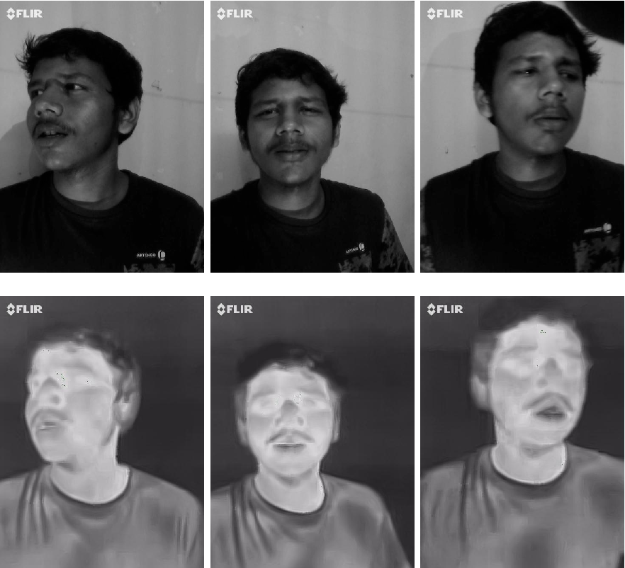 Figure 2 for Illumination-invariant Face recognition by fusing thermal and visual images via gradient transfer