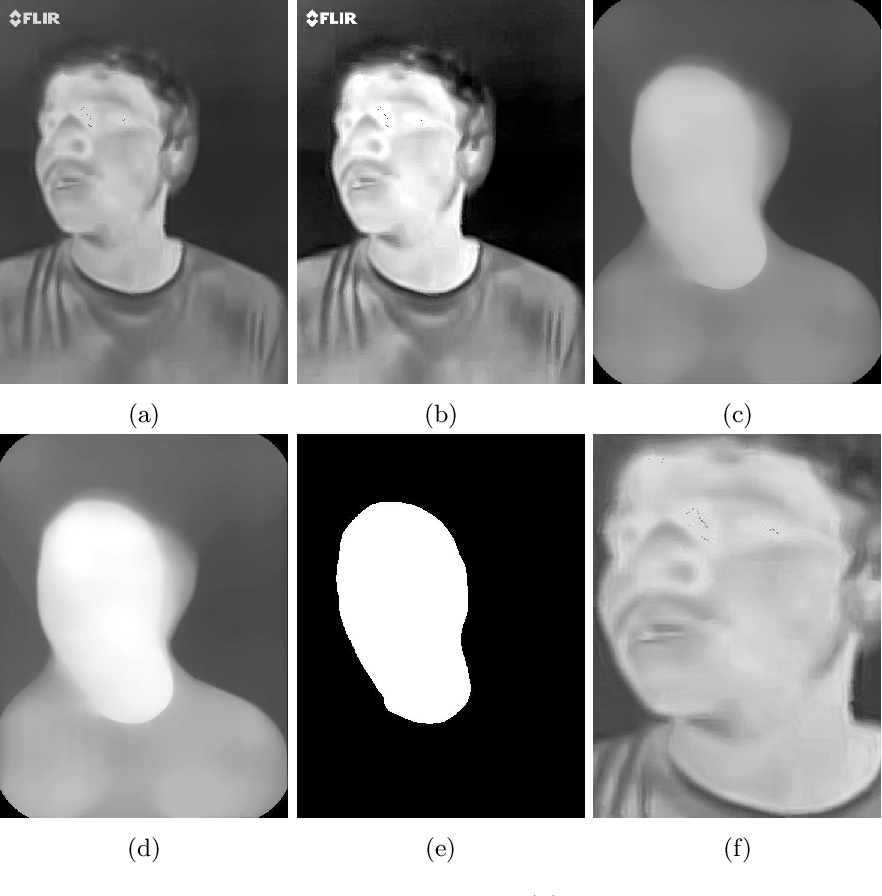 Figure 3 for Illumination-invariant Face recognition by fusing thermal and visual images via gradient transfer