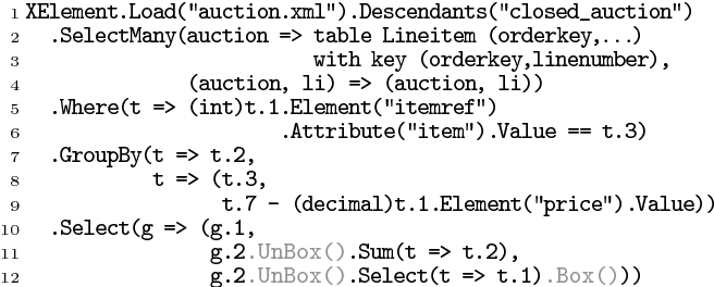 PDF] THE LINQ DATA MODEL ON A RELATIONAL BACK-END - Semantic