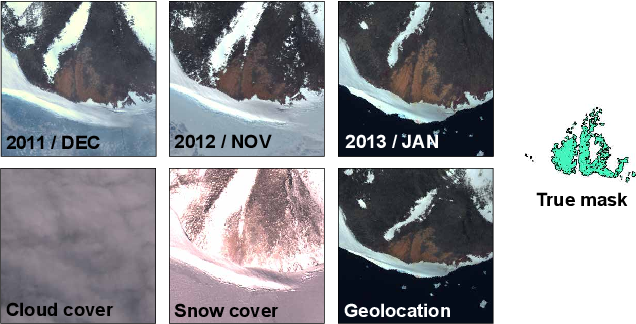 Figure 1 for Weakly Labeling the Antarctic: The Penguin Colony Case