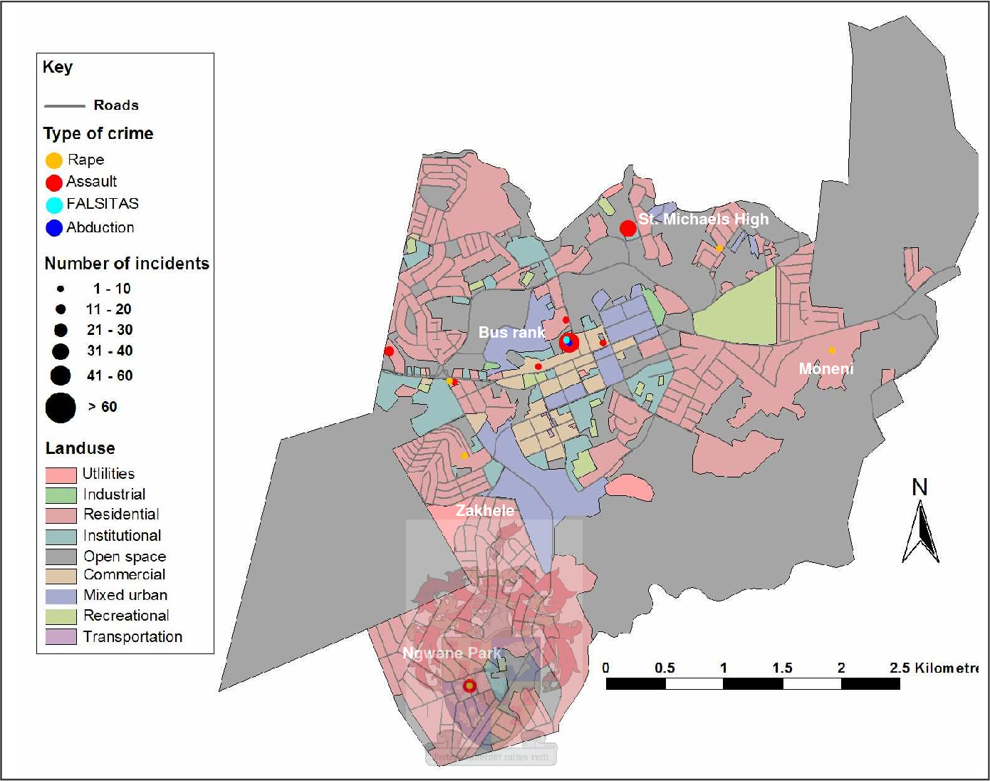 PDF] Crime analysis and police station location in Swaziland