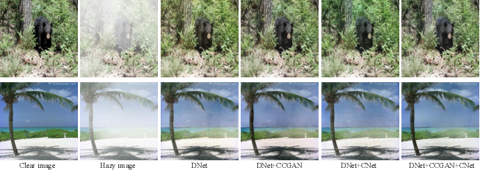Figure 3 for Classification-driven Single Image Dehazing