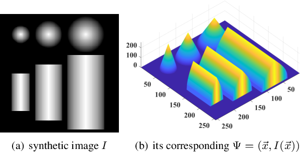 Figure 4 for A Discrete Scheme for Computing Image's Weighted Gaussian Curvature