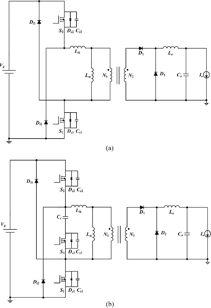 Two-Switch Forward Converter With Reset Winding and an Auxiliary ...