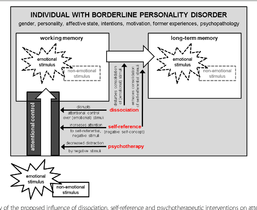 Figure 1 from Attention to emotional stimuli in borderline ... on