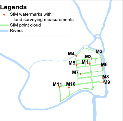 Sfm Subway Map.Extracting Inundation Patterns From Flood Watermarks With Remote