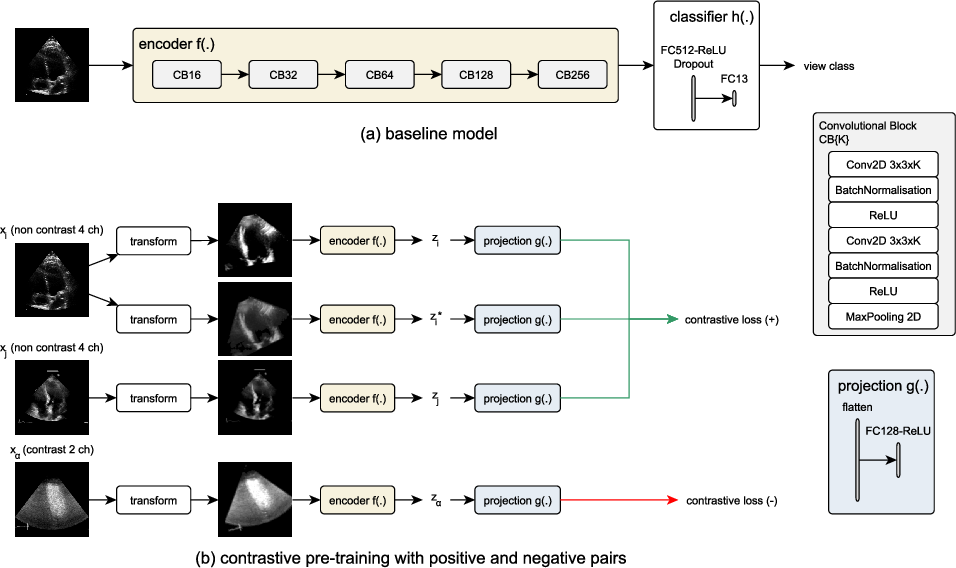 Figure 3 for Contrastive Learning for View Classification of Echocardiograms